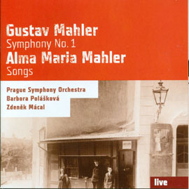 Gustav Mahler 1. symfonie D dur / Alma Maria Mahlerová Sedm písní
