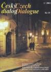 Český dialog - obálka čísla 2 2002