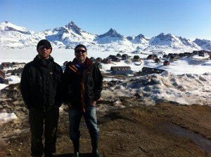 ZL a Kasper v Tasiilaqu - oba  postizeni sneznou slepotou