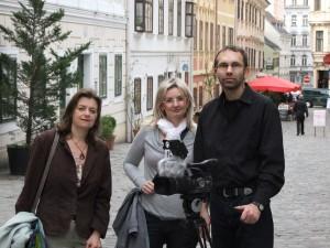 Tým Českých kořenů ve Vídni